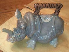 Rhino tea pot?! Yes please