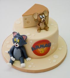 Pastel Tom & Jerry Tom & Jerry Cake