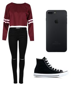 """Untitled #48"" by spikeytwister on Polyvore featuring Converse"