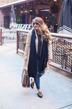 Winter / Spring Layers by popular North Carolina fashion blogger Coffee Beans and Bobby Pins