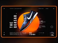 nike dribbble black and orange color combinations 2020 example Ui Ux Design, Layout Design, Logos Retro, Vintage Logos, Amazing Websites, Web Banner Design, Web Banners, Good Color Combinations, Ui Design Inspiration