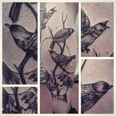 By Gael Cleinow @toe_loop_tattoo_berlin #bird #leg #tattoo #black #ink #BLXCKINK #blackworkers #blacktattooart #btattooing #blackworkerssubmission #blackworkerssubmissions #onlyblackart #onlyblacktattoo #gael_cleinow #hand_job_booking #sun #tree #life #love #blacktattooer #TAOT #blxckink #blackandgrey #mywork #original #artwork #skin #familly #fineline #dotswork