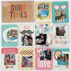 Project Life Week Eleven :: Creatively cropping your photos to tell the best version of your story, plus adding embellishments to make your layouts pack a punch!