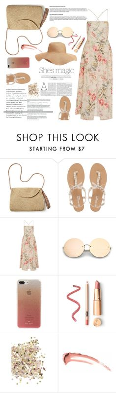 """""""foppy"""" by naomy-nona ❤ liked on Polyvore featuring Mar y Sol, Head Over Heels by Dune, Zimmermann, Nicole, Old Navy, Kate Spade and Topshop"""