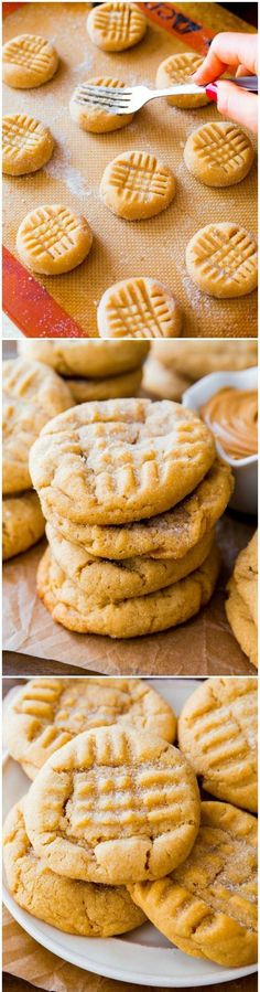 Classic Peanut Butter Cookies I love food. I love making it and I love eating it. But more than anything else I love how it brings people together. There is nothing like breaking bread with friends and family. They are the most special times in life. That's why I like food and recipes – and people! – that are […] Continue reading... The post Classic Peanut Butter Cookies appeared first on In the kitchen with Suzie Q! . http://inthekitchenwithsuzieq.com/classic-pe..
