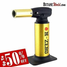 #SALE UP to 50% OFF on N-ZERO Gold Butane Torch Shop Now from ButaneWorld.com at $24.99 Always cheap prices and fast worldwide shipping  #nzero #newportbutane #newportzero #offer #off #gas #gasbutane #torch #lighter #butane #cheap #price #cigar #classy #special #rich #wealth #money #luxury #gold #cleanbutane #newporttorch #extrapurified #zeropurities #flame