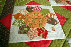 Dresden Plate Flower Appliqué Lap Quilt or by MulberryPatchQuilts, $124.00