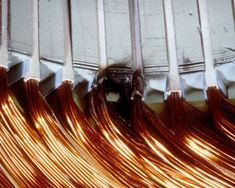 Typical Failures in Three-Phase Stator Windings Electrical Wiring Colours, Types Of Insulation, Engine Repair, Small Engine, Electric Motor, Engineering, Slot, Technology, Business
