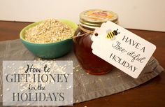 4 Ways to Gift Honey for the Holidays - Creative Ramblings Holiday Gift Baskets, Diy Holiday Gifts, Holiday Parties, Orange Blossom Honey, Gift List, Honeycomb, Holiday Recipes, Unique Gifts, Homemade