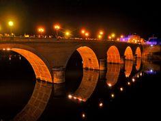 Dordogne bridge at Bergerac France