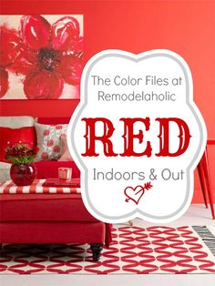 Best Red Paint Colors for your Home! #paint #red #color