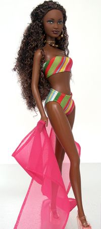 Grow Lust Worthy Hair FASTER Naturally} ========================== Go To: www.HairTriggerr.com ========================== Long and Curly Swimsuit Black Fashion Doll