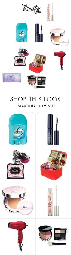 """""""Beauty"""" by eldin-memic ❤ liked on Polyvore featuring beauty, Estée Lauder, Victoria's Secret, Christian Dior, Urban Decay, BaByliss Pro, Bobbi Brown Cosmetics and Clinique"""