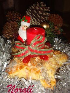 Estrella de Navidad. Ver la receta http://www.mis-recetas.org/recetas/show/24688-estrella-de-navidad
