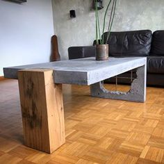 Concrete and Wood coffee table!⠀⠀ Show your work – Email for features… Concrete and Wood coffee table!⠀⠀ Show your work – Email for features⠀⠀ .⠀ made by Concrete and Wood coffee table!⠀⠀ Show your work – Email for features… Raw Furniture, Concrete Furniture, Concrete Wood, Furniture Design, Business Furniture, Outdoor Furniture, Polished Concrete, Wood Wood, Furniture Ideas