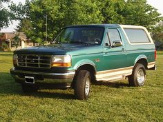 This is what I got to drive as a junior and senior in high school...LOTS of memories were made in that truck. :) <3