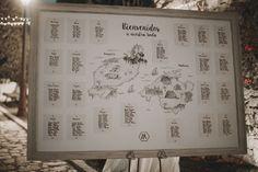 Wedding Seating plan / plano de sitios boda Rudy y Helen.