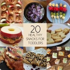 20 Healthy Snack Ideas For Toddlers