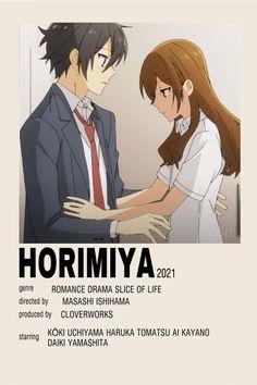 Horimiya Minimalist Poster / Movie Poster