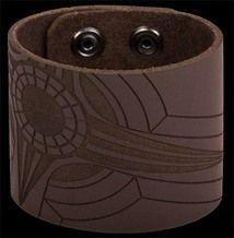 ITEM #: BWB11 Fine leather – laser etched ( BROWN ) $24.00