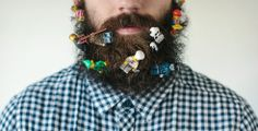 Pierce Thiot Sticks Random Things In His Beard With Glorious Results | Cool Material