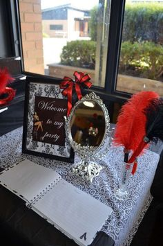 Burlesque Birthday Party Ideas | Photo 1 of 25 | Catch My Party