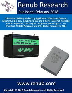 By the end of the year 2024, Global lithium-ion battery market is more than US$ 40 Billion opportunities. In this report, Renub research studied the inclusive assessment and in-depth insight of lithium-ion batteries in many appliances say for instance Automotive and E-Bus, Electronics devices, Industrial and energy storage, etc.