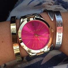 michael kors watches and bracelet