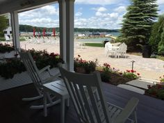 Spend a few hours lounging on the beach or taking a dip in the cool waters. The natural beauty of Walloon Lake is nothing short of breathtaking.