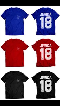 Jerika New merch Team 10!!