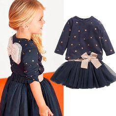 nieuwe meisjes 2015 2 stuks set blauwe gelaagde tutu jurk kleding kleding sets sets cartoon meisjes baby meisjes kleding sets meisjes kleding in (1) naam van het product: meisjes pak(2) artikelnummer type en de grootte: tz/90-100-110-120-130(3) gebruik van ruwe mat van kleding sets op AliExpress.com | Alibaba Groep