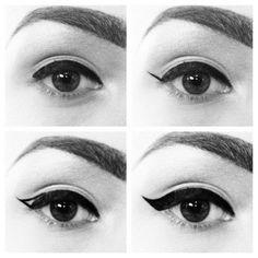 Liner for brown eyes
