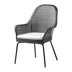 The Amerro Chair ($80) has a plastic rattan frame that makes it highly weather resistant — and easy to clean.