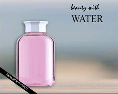 Beauty with Water – Rose water, rice water and mint water
