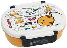 New! Gudetama Bento Lunch Box Sanrio Japan 360ml F/S #Gudetama