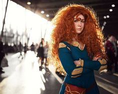 This Is One Hell Of A Merida Cosplay