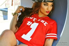 Womens not the 1 2 FVCK with jersey: now available at: www.dreamsoftriumph.bigcartel.com