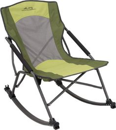 The Sturdy Low Rocker Chair Has A Compact Foldable Design And Features  TechMesh To Keep You