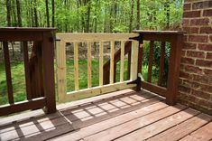 Deckgate (Literally, How To Make A Deck Gate