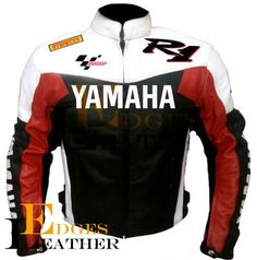 YAMAHA R1 MOTORBIKE LEATHER JACKET MAN'S 2016