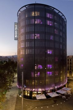 CMV Architects designed the Barceló Raval Hotel in Barcelona, Spain.