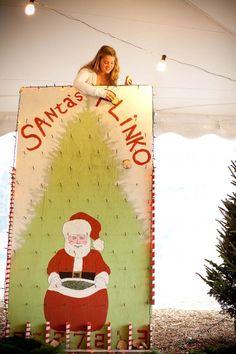 santa's plinko