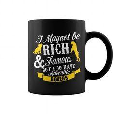 I do have adorable BOXER dog Mug