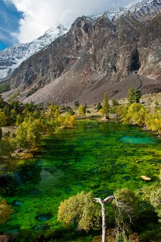 Beautiful lakes of Naltar Valley in Gilgit-Baltistan, Pakistan (by Johan Assarsson).