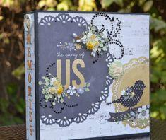 Album de scrapbooking, album de mariage sur le thème Srapbook, Album de mariage, anniversaire, l