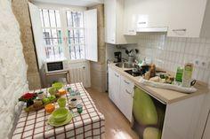 Apartment R. Bright kitchenette