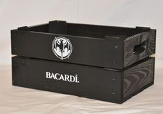 Personalised Crates for Bacardi Event Support