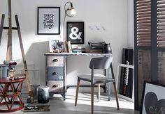 Una selección de piezas en madera, metal y aluminio de estética industrial pero con el encanto bohemio