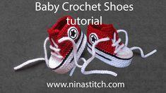 Baby Crochet Shoes Tutorial