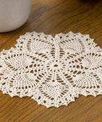 Vintage Crochet Pineapple Doily - free pattern